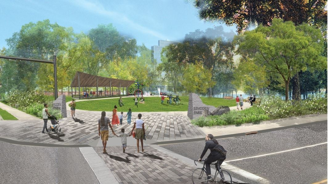 Lincoln Park Master Plan Morton and Delaware Avenue